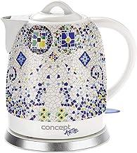 CONCEPT Hausgeräte RK0020 keramische waterkoker, uniek design, vleugje Orient, 1,5 l, wit, 1350 W