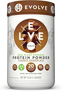 Evolve Protein Powder, Classic Chocolate, 20g Protein, 1 Lb
