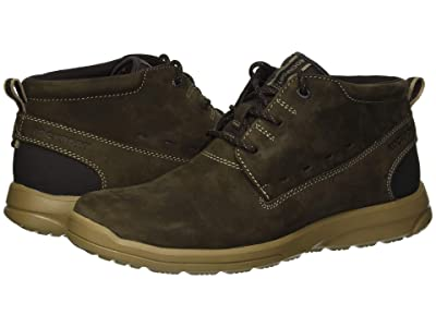 Rockport Rydley Chukka (Dark Bitter Chocolate Nubuck) Men