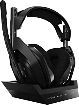 Astro A50 Over-Ear Wireless Gaming Headphones with Base Station
