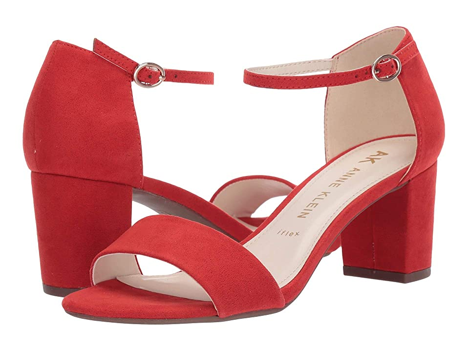 Anne Klein Camila (Red Suede) Women