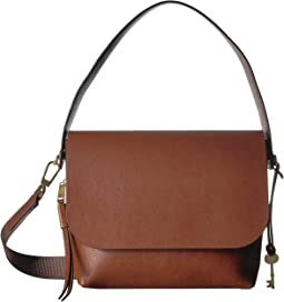 911f674ce Fossil peyton large double flap crossbody | Shipped Free at Zappos
