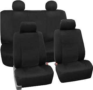 Water Resistant Heavy Duty Durable Single Seat Cover Grey S- tech automotive SEAT Leon Cupra 07-11