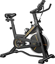 HAYONA Stationary Spin Bike-Exercise Bike,Belt Drive Indoor Cycling bike for Home Cardio Workout Bike Training with LCD Mo...