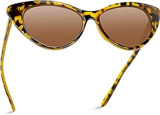 HGWXX7 Unisex Vintage Cat Eye Sunglasses for Women Men Retro Goggles Plastic Frame Sun Glasses