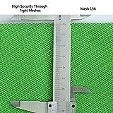 Sekey 60x250x1200 cm Moskitonetz Für Einzel- und Doppelbette | Moskitonetz Bett | Mesh Insektennetz | Mückenschutz | Insektengitter | Schnelle und Einfache Installation, Betthimmel Baldachin - 7