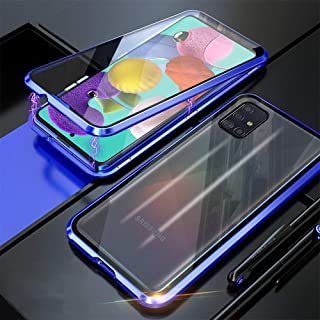 2ndSpring Funda Samsung Galaxy A70 2019,Carcasa Galaxy A70 2019 Espejo Funda Mirror Flip Case Ultra Delgada Leather PC Hard Anti-Scratch Protector Cover Caso C/áscara para Galaxy A70 2019,Negro