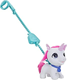 FurReal Walkalots - Big Wags Unicorn Plush Pet - Interactive Toys for kids, boys, girls - Ages 4+