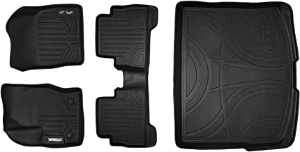 MAXLINER Floor Mats 2 Rows and Cargo Liner Set Black for 2013-2018 Ford Escape