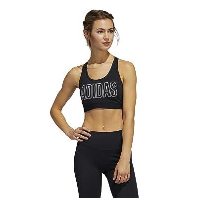 adidas Dont Rest Alphaskin Sport Bra (Black/White) Women