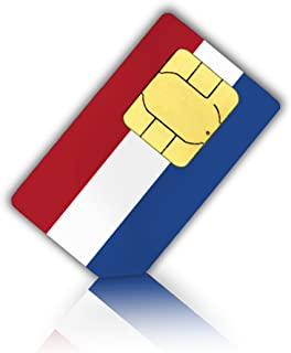 Tarjeta SIM para los países bajos (Holland)–Nano SIM–Neerlandés Prepaid tarjeta SIM