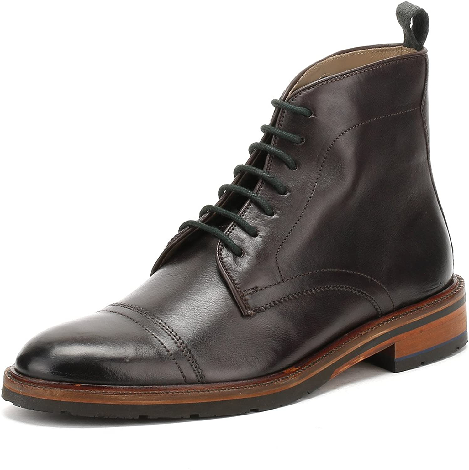 Oliver Sweeney Men's Leather Boxgrove Boots Brown