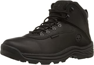 Men's White Ledge Mid Waterproof Ankle Boot,Black,8.5 W US