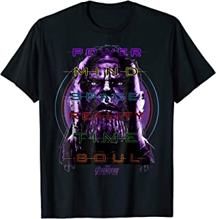 Infinity War Thanos 6 Infinity Stone Manifest T-Shirt