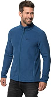jack wolfskin fleecejacke vertigo men midnight blue