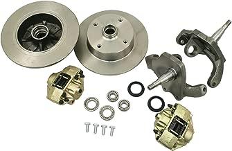 EMPI 22-2886-0 Front Disc Brake Kit, VW Ball Joint, 4/130