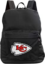 "Denco Kansas City Chiefs Lightweight Backpack 16"" - Made in The USA - Ideal for Work, Hiking, Travel, School, Weekends, an..."