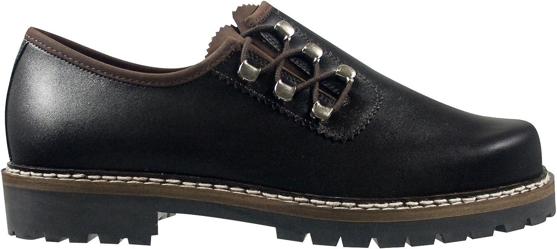 SCHAPURO 10135-805 Herren Schuhe Premium Qualitt Trachten Schnürer