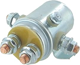 Solenoid Relay Switch for Prestolite & Ramsey Applications, Continuous Duty Winch & Golf Cart Applications, 12 Volt 5 Terminal Heavy Duty