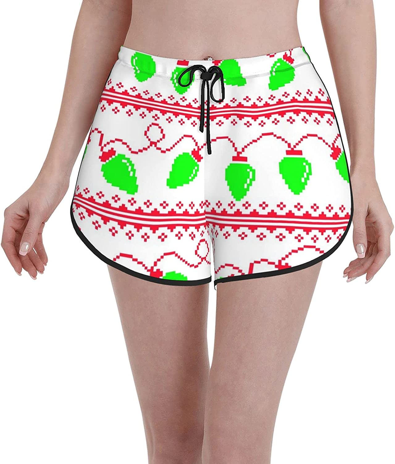 Time sale Janrely Comfortable Casual Board Shorts Time sale Girls Ugly Chr Women for