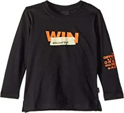 Encourage Long Sleeve Win Graphic Tee (Toddler/Little Kids/Big Kids)