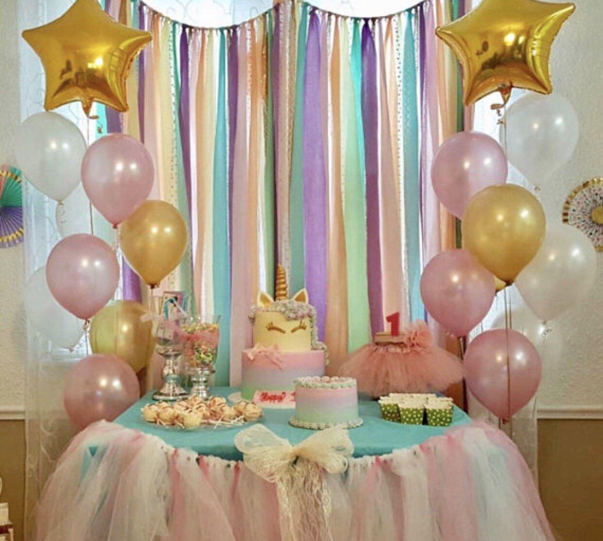 El Paso Mall Unicorn Ranking TOP7 Pastels Gold Sequin Garland -rainbow - Backdrop bi 5x6
