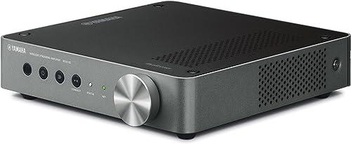 Yamaha 2.1 Wireless Streaming Amplifier (WXA50),Black