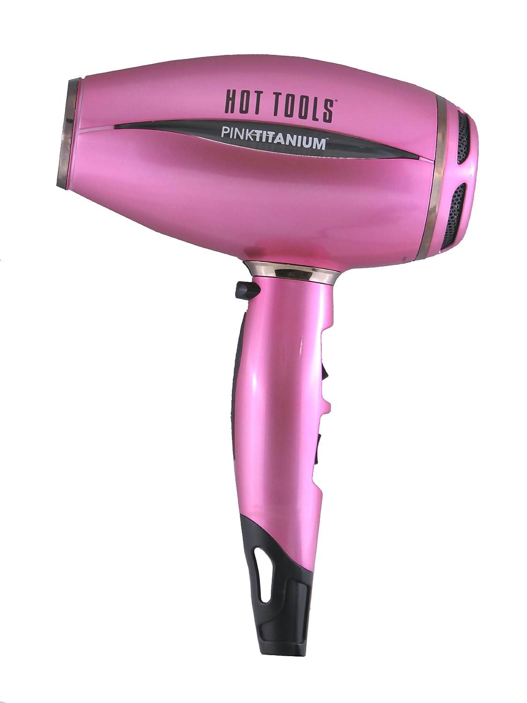 Hot Tools New product type PINKTITANIUM Salon 1600 Watt Max 90% OFF Hair Ionic Dryer Titanium