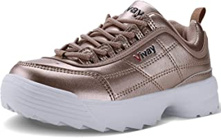 Vivay Girls Sneakers Kids Tennis Shoes Outdoor Sport Walking Shoes for Boys(Little Kid/Big Kid)