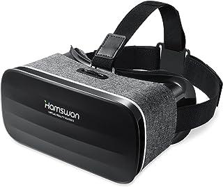 REDSTORM Casque VR, Vue Panoramique en 3D, Qualité d'image HD, Casque Réalité Virtuelle Légère Compatible avec iPhone/Andr...