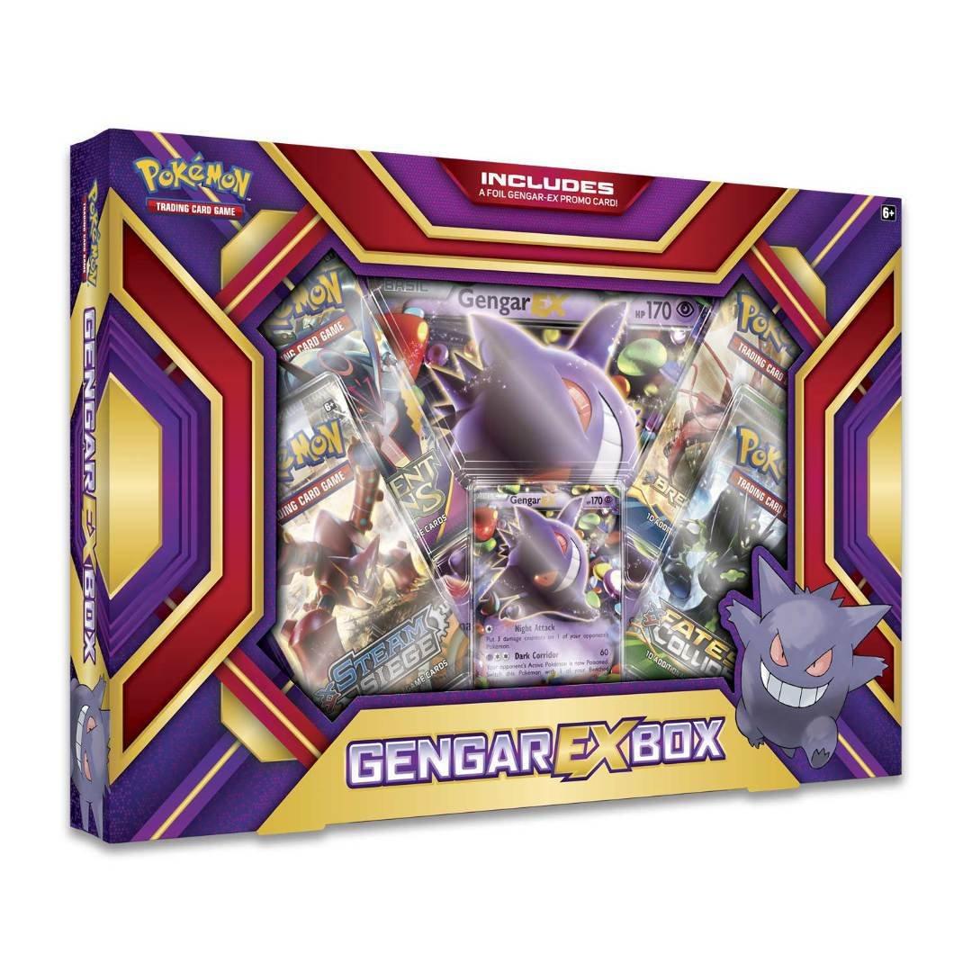 Pokemon 2016 Assorted EX Box Gengar