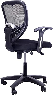 Grandbiker Umbrella Base Office Chair (Black) (1)