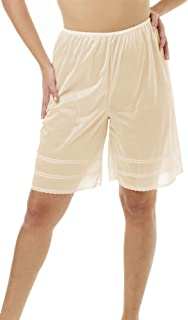 Underworks Snip-A-Length Pettipants Culotte Slip Bloomers Split Skirt