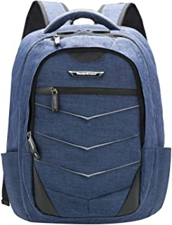 Traveler's Choice Computer Laptop Backpack, Brushed Navy