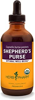 Herb Pharm Certified Organic Shepherd's Purse Liquid Extract - 4 Ounce