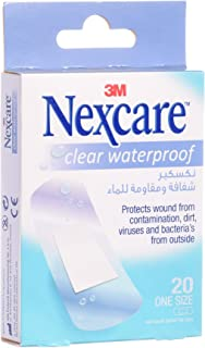 3M Nexcare CWP-20 Clear Waterproof Bandages