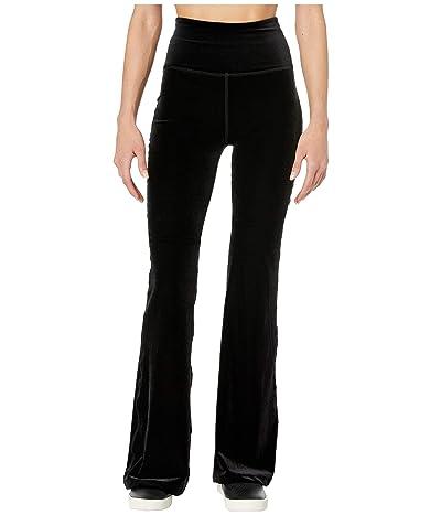 Beyond Yoga Velvet Bell Pants (Black) Women