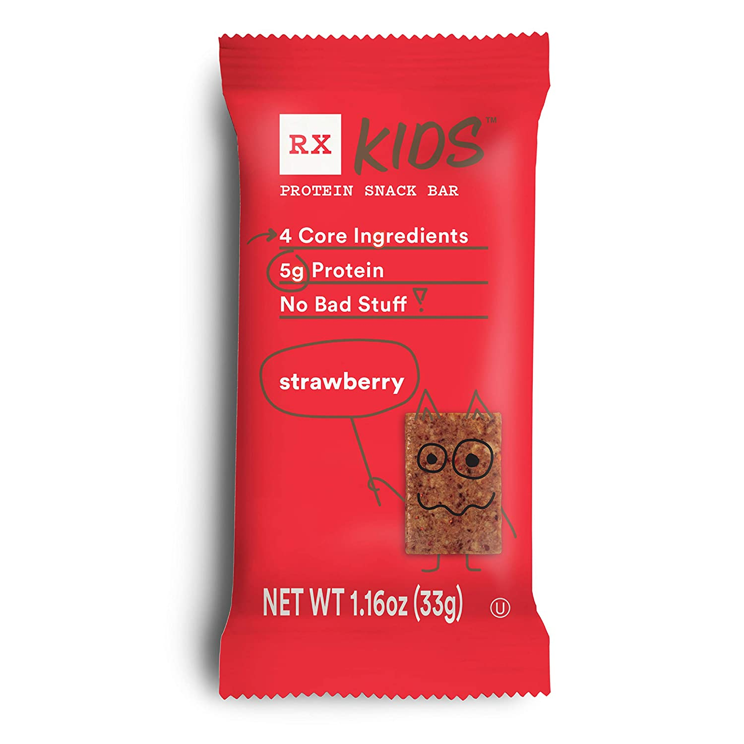 RXBAR RX Kids Protein Snack 30ct 1.16oz Limited price Strawberry Bar cheap Bars