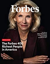 Forbes Magazine Special Issue Forbes 400 Richest People in America; 2019; Shari Redstone Cover