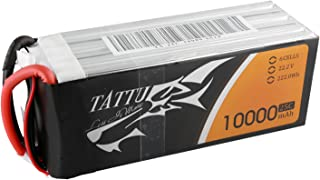 Tattu 10000mAh 22.2V 25C 6S LiPo Battery Pack with AS150+XT150 Plug for DJI S800 and Other Multirotors