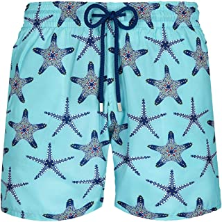 Vilebrequin Men Swimwear Ultra-Light and Packable Starfish Dance