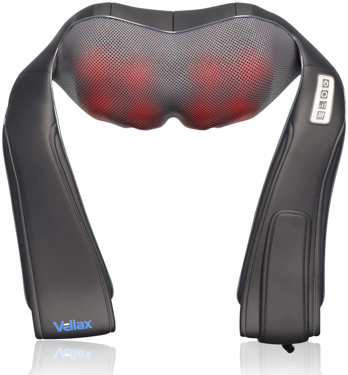Shiatsu Neck and Back Electric Massager 3 - Heat 8 Speeds Fashionable with Max 71% OFF