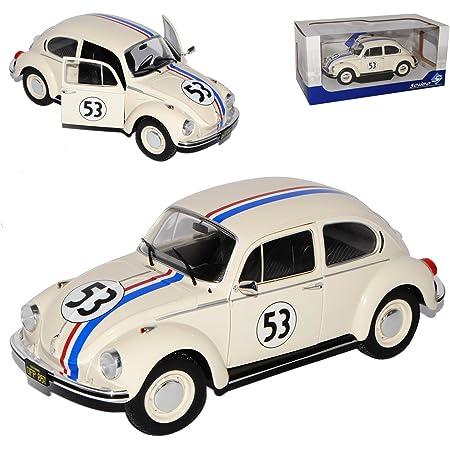 Solido Volkwagen Käfer 1303 Beetle Racer Herbie Nr 53 The Love Bug 1962 1 18 Modell Auto Mit Individiuellem Wunschkennzeichen Spielzeug