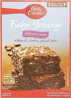 Betty Crocker Fudge Brownie Mix Chocolate Chunk, 500 gm