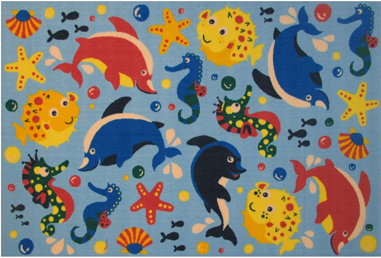 Fun Rugs Fun Time Aquarium Novelty Rug, 19 x 29