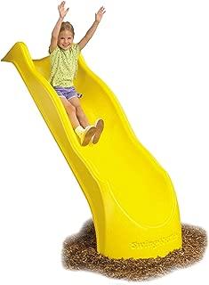 Swing-N-Slide NE 3052 Speed Wave Slide for 4' Swing Set Decks with, Yellow