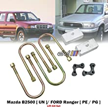 2 inch lift kit ford courier