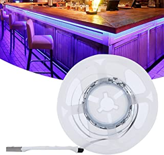 Background Light, 16 Kinds Color USB Power Supply 4 Lighting Mode 5V 1200Lm Light Strip with Double Sided Tape for Home De...