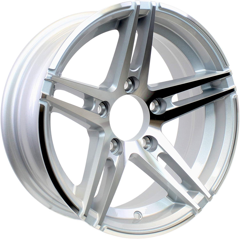 2-Pack Aluminum Trailer Wheel wholesale 14 Sale Inch Si 4.5 Lug Sidewinder On 5