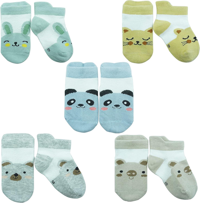 Newborn Socks 5 Pairs For Baby Toddler Infant Kids Baby Boys Girls Socks Gifts